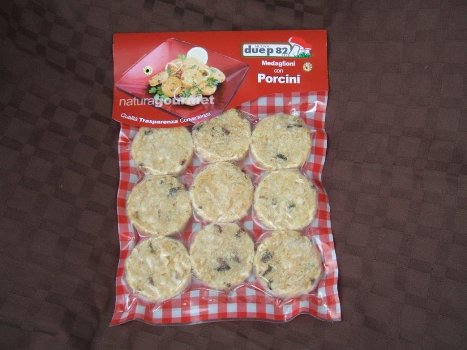 Medaglioni di patate con porcini