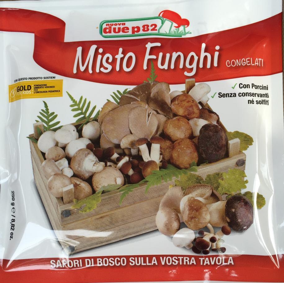 Funghi misti di bosco gr. 250